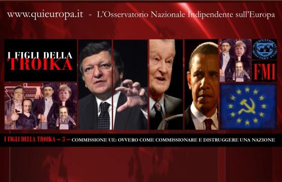 COMMISSIONE EUROPEA - TROIKA