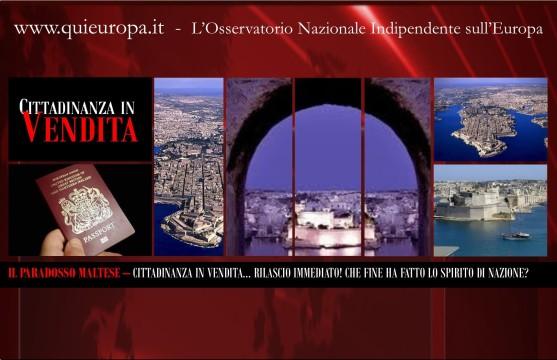 Malta - Cittadinanza