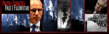 Politiche energetiche fallimentari - Italia