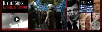 Video attivisti alba dorata - Grecia
