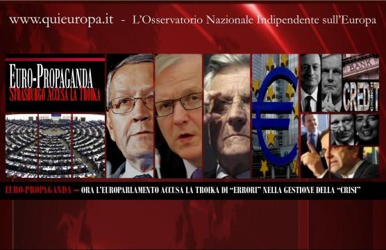 Troika - Parlamento europeo - European Parliament