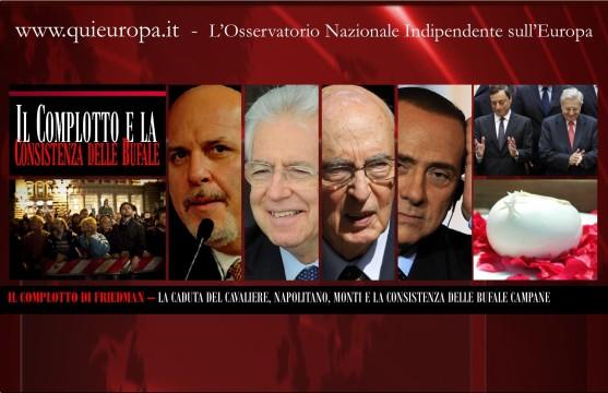 Alan Friedman e il Complotto - Monti Napolitano