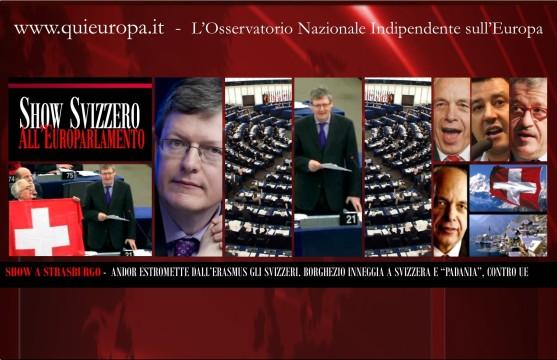 Borghezio - Parlamernto Europeo - Svizzera