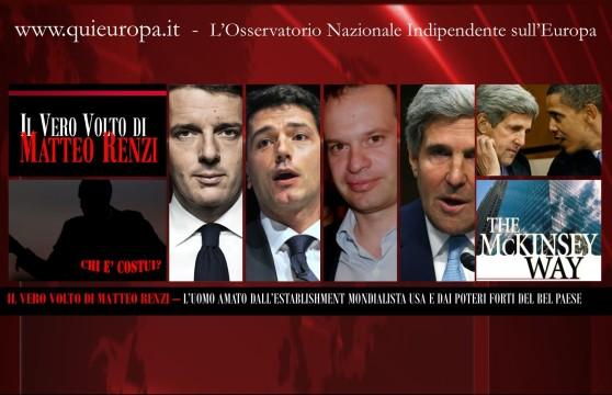 Matteo Renzi e l'establishment mondialista