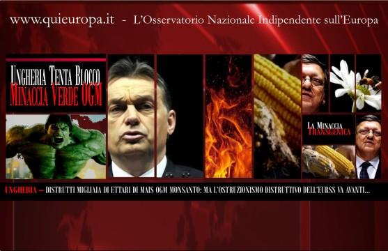 OGM Monsanto - Ungheria