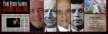 Padre Quirino Salomone - Crisi e Usurocrazia