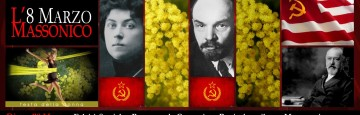 8 marzo - mimosa - massoneria - comunismo