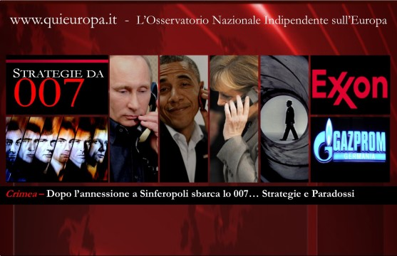 Crimea - Strategie da 007