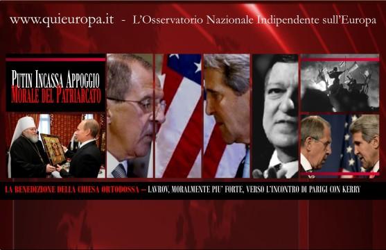 Crisi Ucraina - Lavrov Kerry - Parigi
