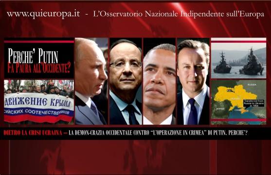 Crisis - Crimea - Putin