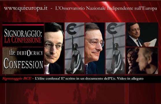 La Confessione - Signoraggio - Euro