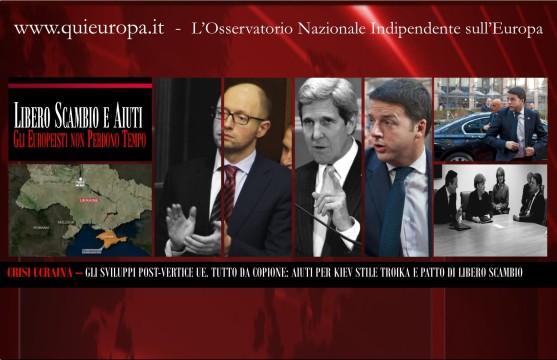Libero Scambio Ucraina Ue - Vertice Bruxelles