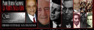 Padre Quirino Salomone - Giacinto Auriti - Moneta Debito - Catanzaro