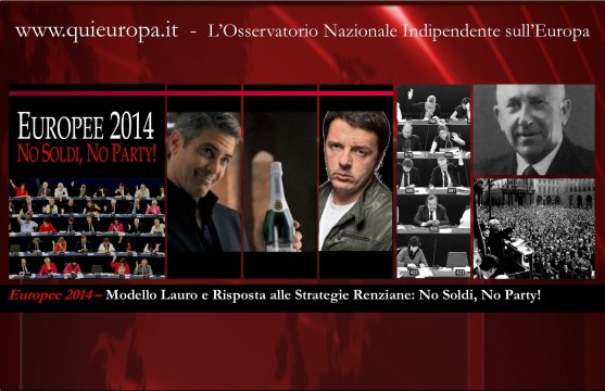 Renzi - Europee 2014