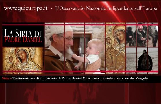 Siria - Padre Daniel Maes