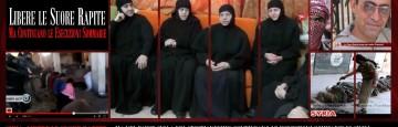 libere le suore siriane di Maaloula rapite - Continuano le esecuzioni di civili
