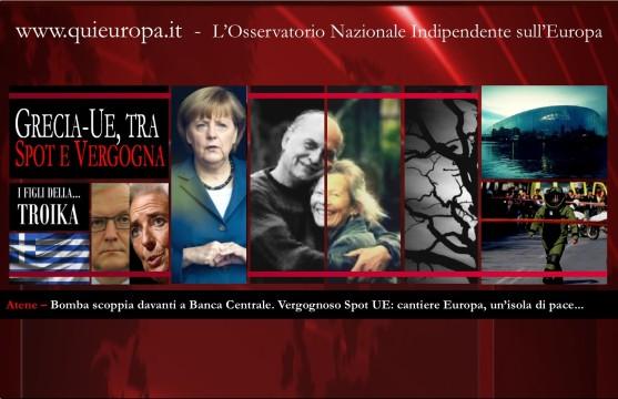 Atene - Troika - Bomba - spot UE