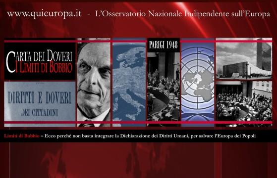 Limiti di Norberto Bobbio - Carta dei Doveri