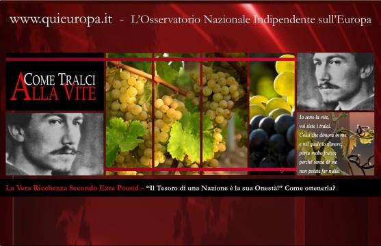 Il vero tesoro di una nazione è la sua onestà - Ezra Pound