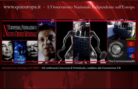 europeismo - federalismo - nuovo ordine mondiale - commonwealth - europee 2014