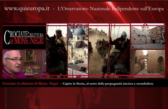 Crociate - Lettera di Mons. Negri