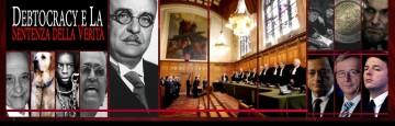 Debito Detestabile - Corte Giustizia Internazionale - Gioco Sporco di Renzi & Co