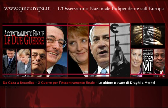Draghi - Merkel - Reform Compact - Bail-in