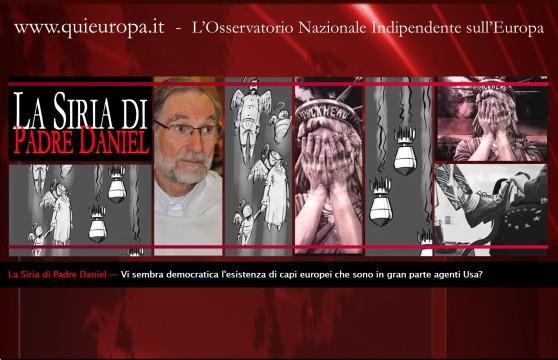Europa - ONU - Siria . Padre Daniel