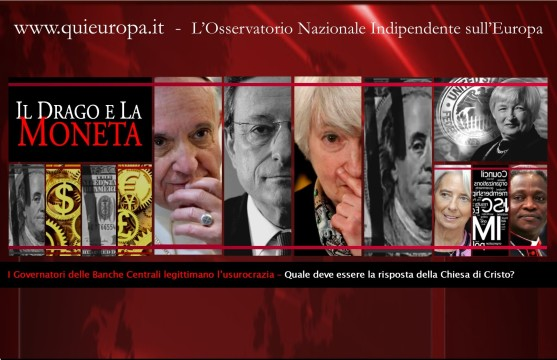 usurocrazia - chiesa - papa francesco - moneta - BCE - Draghi