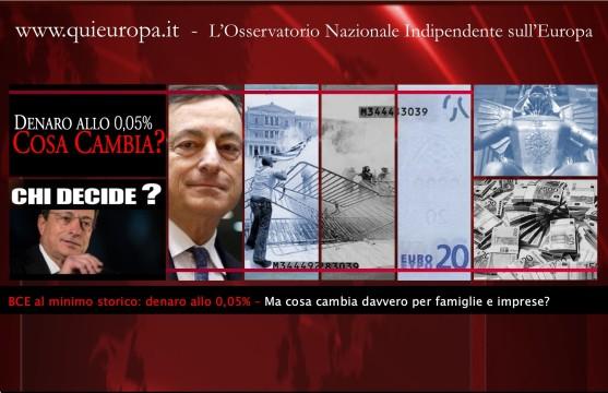 nuovo - banca centrale europea - draghi