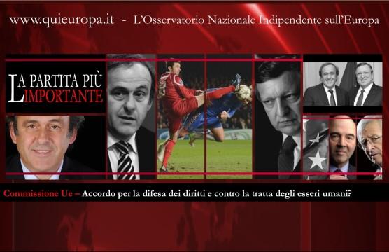 Platini - Commissione Europea - Diritti
