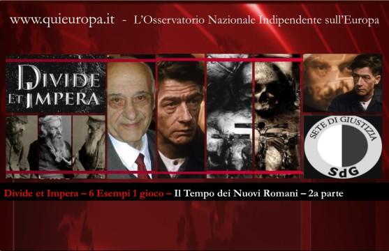 divide et impera - times news roman