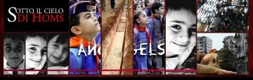 strage di homs - bambini sepolti assieme