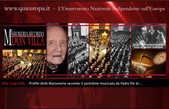 Don Villa e la Massoneria