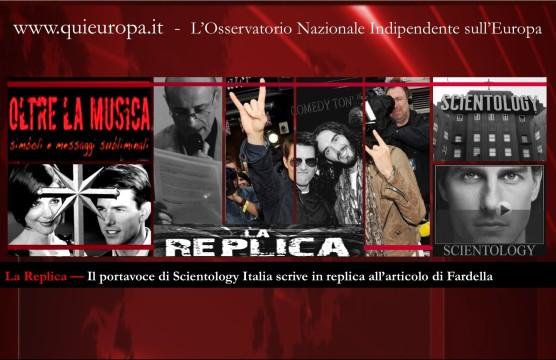 La replica di Scientology Italia