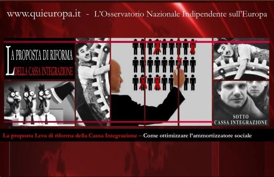Proposta Leva di riforma della Cassa integrazione