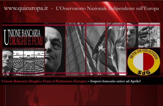 Unione Bancaria - Draghi