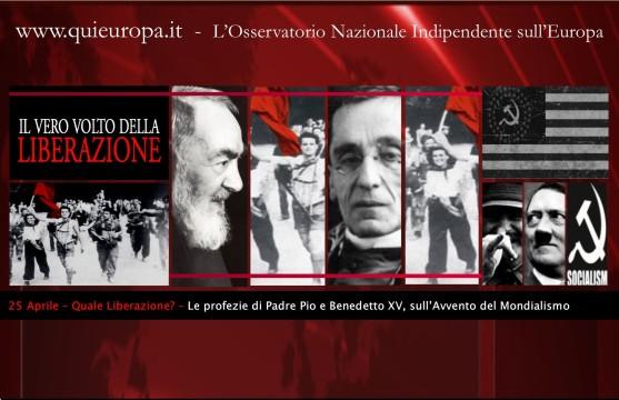25 Aprile - Nuovo Ordine Mondiale