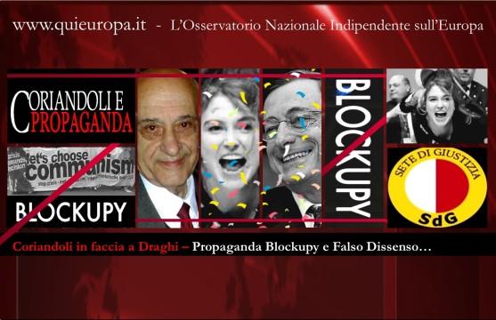 Blockupy - Draghi - Communism