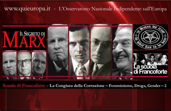 Scuola di Francoforte - 2 - Congiura Corruzione