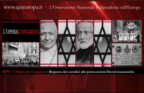 1870 - Congressi Anti Massonici