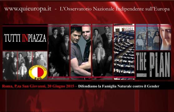 20 giugno 2015 - Piazza San Giovanni - Roma