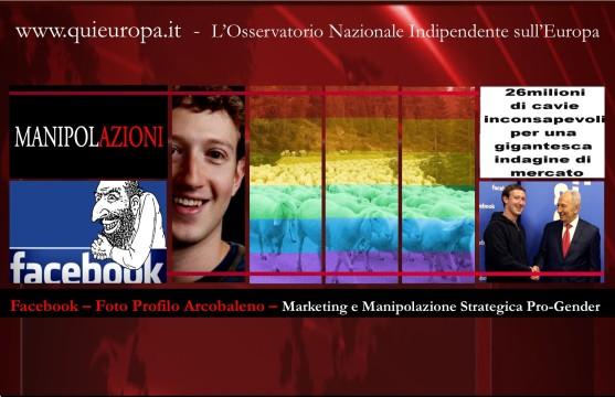 Gender - Facebook - 26 milioni di cavie