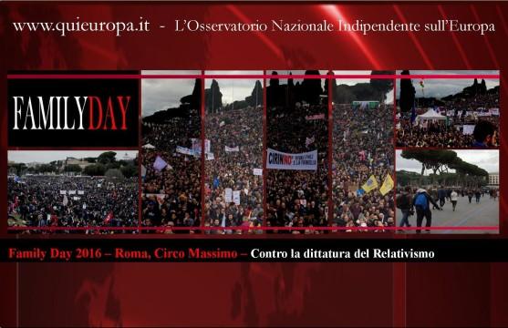 Roma Circo Massimo - Family Day 2016