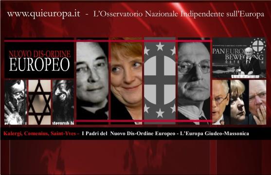 Kalergi - L'Europa Giudeo-Massonica - Paneuropa