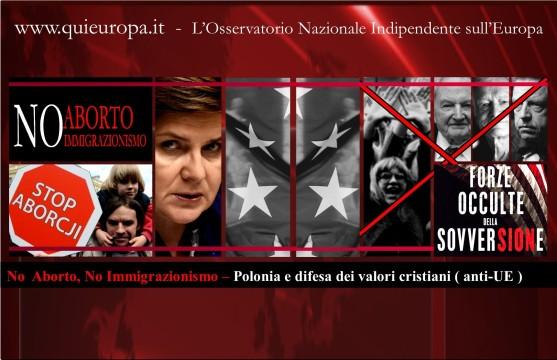 No  Aborto, No Immigrazionismo – Polonia e difesa dei valori cristiani