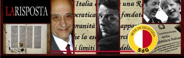 Unioni civili, Vangelo e Costituzione - Renzi - Auriti
