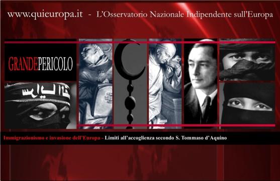 Immigrazionismo e invasione dell'Europa - Limiti all'accoglienza secondo S. Tommaso d'Aquino
