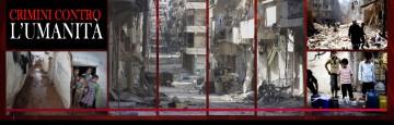 Aleppo - Crimini contro l'umanità - senza acqua da 4 giorni