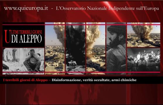 Gli ultimi terribili giorni di Aleppo